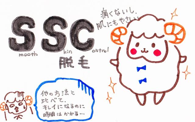 光脱毛 SSC